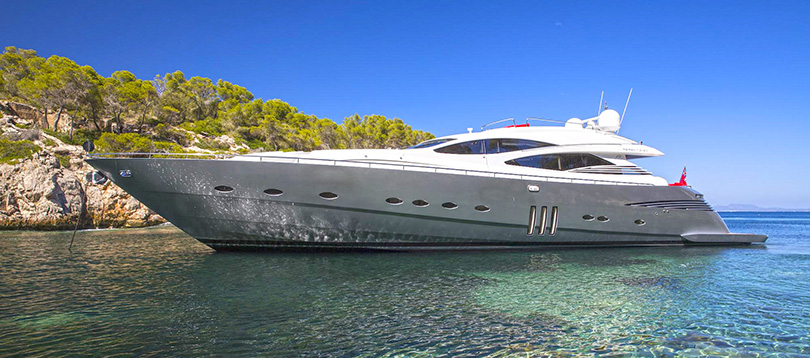 Pershing - wonderful Pershing 90 2009 Tissot Yachts International