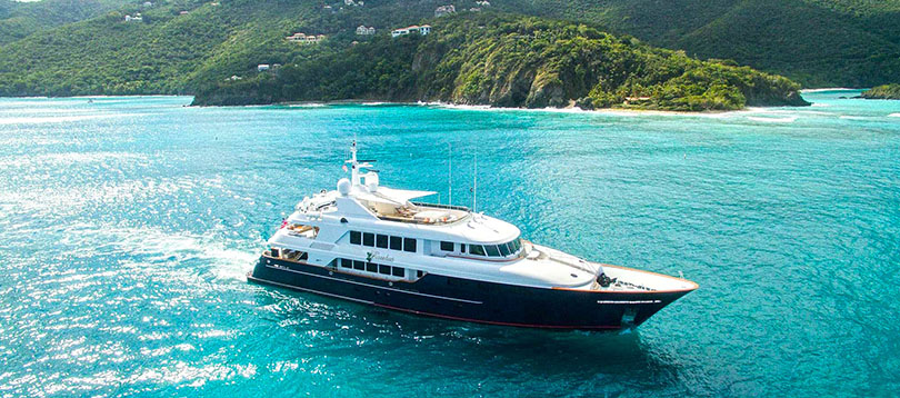 Trinity Yachts - wonderful Trinity 142 2005 Tissot Yachts International