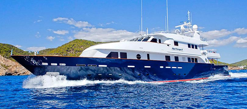 Proteksan - Splendide Big Change II 2010 TissoT Yacht Charter Suisse
