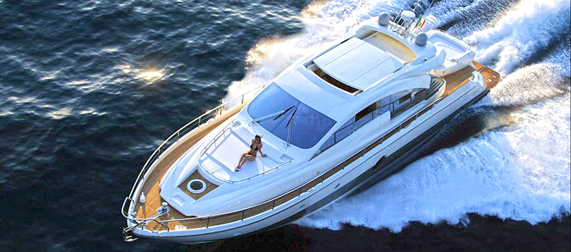 Aicon Yachts - Nice 72ft Aicon 2007 TissoT Yachts Charter Switzerland