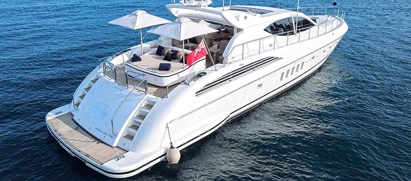 Arno - Nice Leopard 24 1998 TissoT Yachts Charter Switzerland