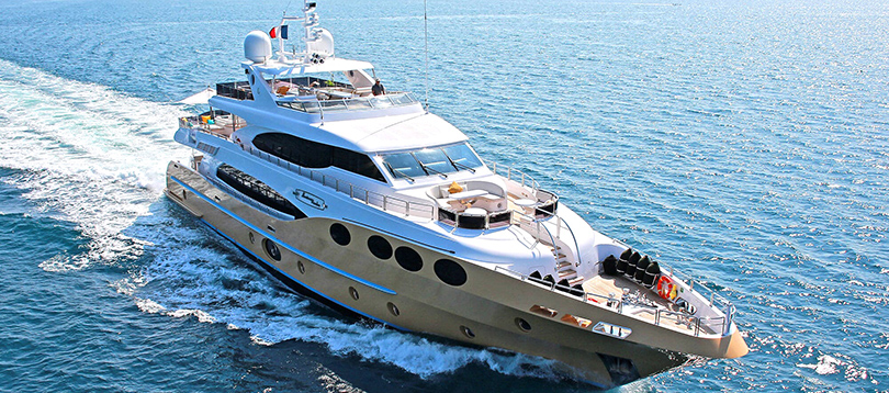 Gulf Craft - Nice Majesty 125 2012 TissoT Yachts Charter Switzerland