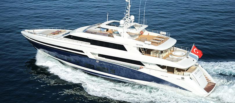 Bilgin Yachts - Splendide Tatiana 2011 TissoT Yacht Charter Suisse