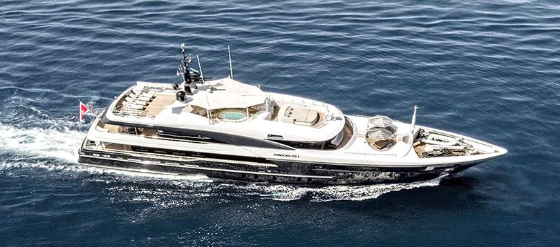 Timmerman - Splendide Amadeus 2014 TissoT Yacht Charter Suisse