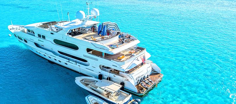 Christensen - Splendide Milestone 2008 TissoT Yacht Charter Suisse