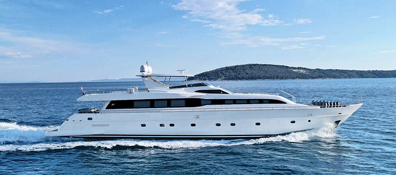 Tecnomar - Nice 35 2006 TissoT Yacht Charter Suisse