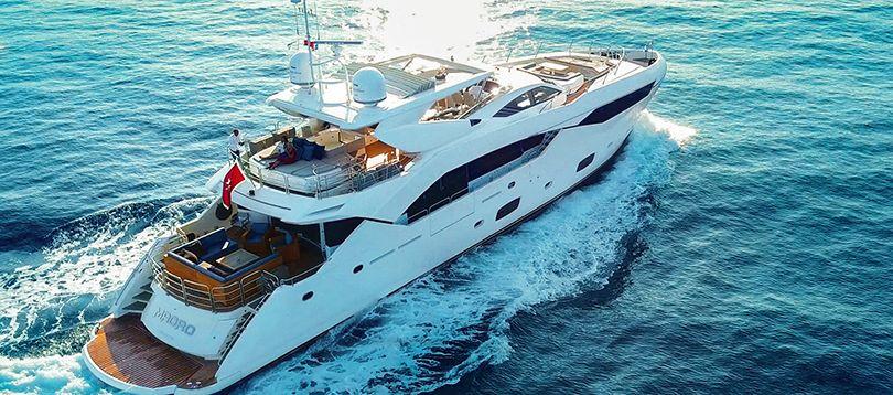 Sunseeker - Splendide 34 2013 TissoT Yacht Charter Suisse