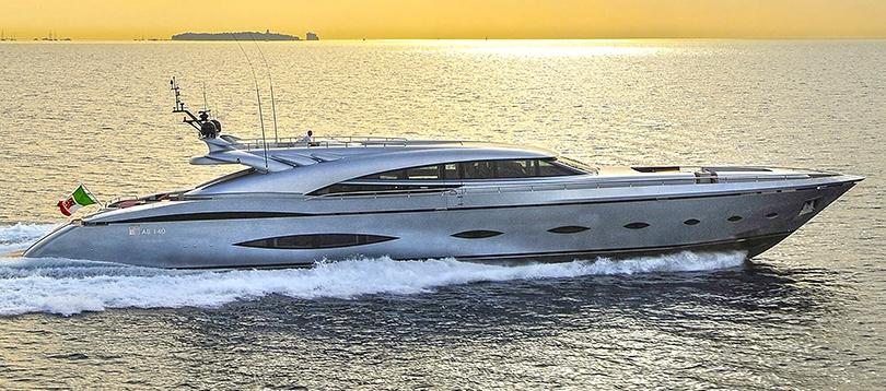 AB Yachts - Splendide AB 140 2009 TissoT Yacht Charter Suisse
