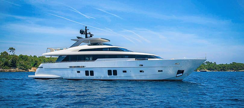 Sanlorenzo - Nice SL96 2017 TissoT Yacht Charter Suisse