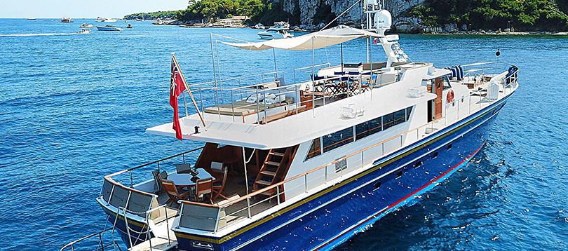 Chantier Naval d'Antibes - Nice 27 1966 TissoT Yacht Charter Suisse