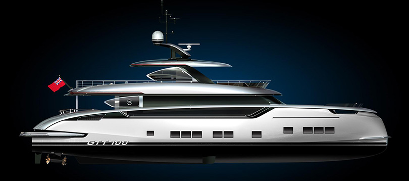 To buy GTT 100 - Dynamiq Yacht
