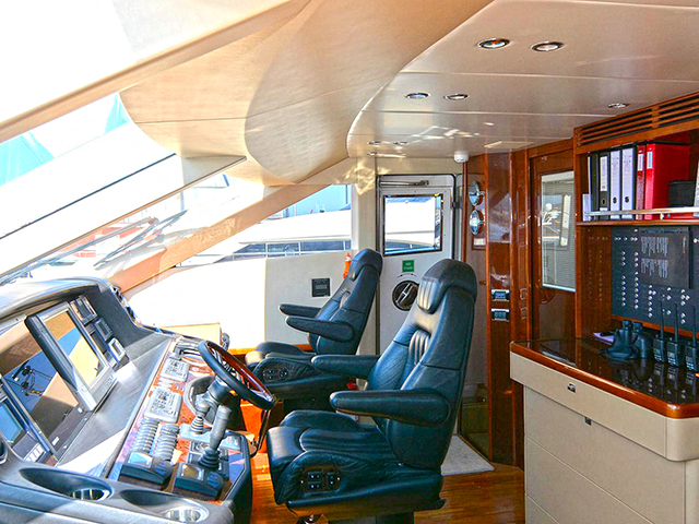 Yachts - TissoT Real Estate : Princess Yachts Princess 95 pièces