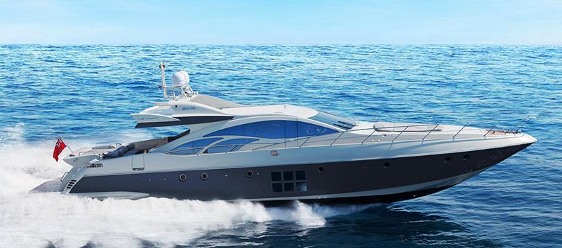 Azimut - Splendide Azimut 86S 2005 TissoT Yacht Switzerland