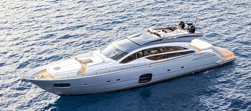 Pershing - Splendide Pershing 82 VHP 2018 TissoT Jacht Schweiz