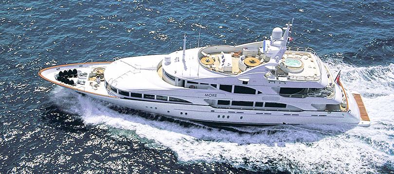 Benetti - Splendide Benetti Vision 2003 TissoT Yacht Switzerland