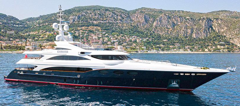 Benetti - Splendide Karianna 2008 TissoT Yacht Suisse