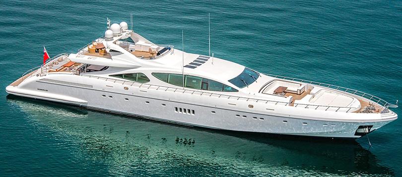 Overmarine - Splendide Mangusta 165 2007 TissoT Yacht Suisse