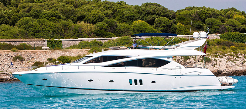 Sunseeker - Very nice Sunseeker 75 2004 TissoT Yachts Switzerland
