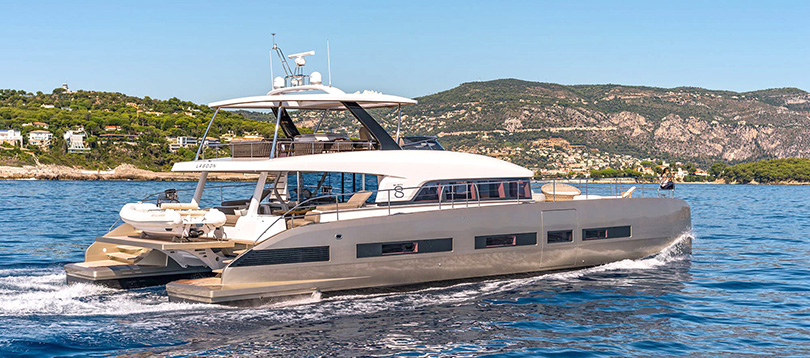 Lagoon - Splendide Seventy8 2018 TissoT Yacht Suisse