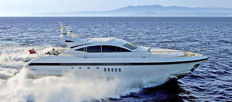 Overmarine - Splendide Mangusta 92 2010  TissoT Yachts Switzerland