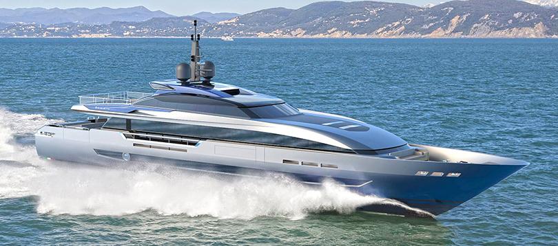 Baglietto - Splendide 43M FAST HT 2021 TissoT Yacht Suisse