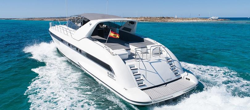 Overmarine - Splendide Mangusta 80 2004 TissoT Yacht Suisse