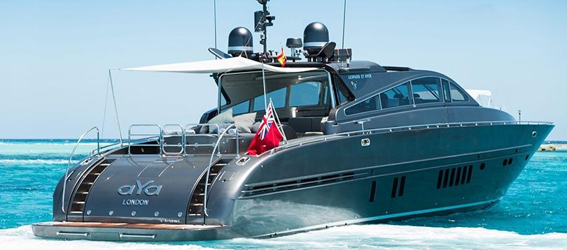 Arno - Very nice Leopard 90 2003 TissoT Yachts Switzerland