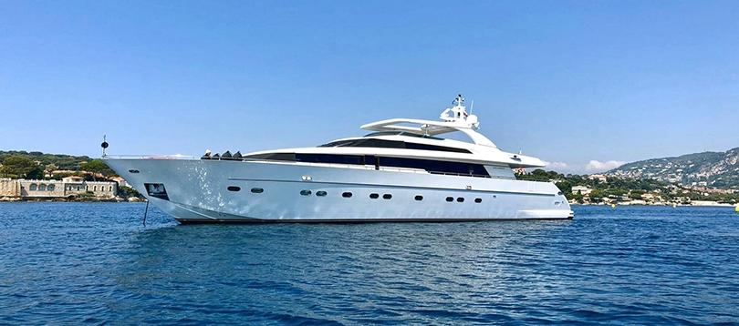 Sanlorenzo - Very nice SL 88 2007 TissoT Yachts Switzerland