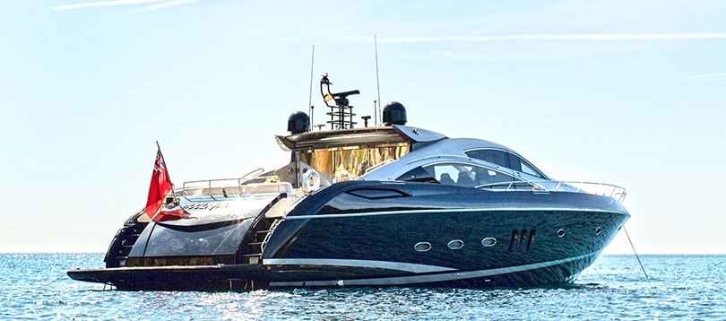 Sunseeker - Very nice Predator 82 2007 TissoT Yachts Switzerland