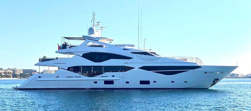 Sunseeker - Splendide 131 2019 TissoT Yacht Suisse