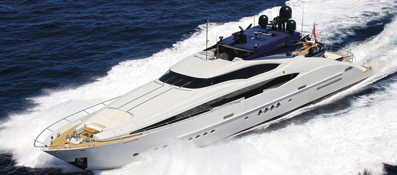 Palmer Johnson - Splendide PJ 150 Sport 2009  TissoT Yachts Switzerland